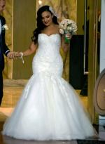 Couture Steven Khalil Wedding gown
