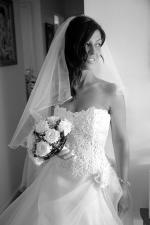 Stunning Strapless Wedding Dress by Winnie Haute Couture