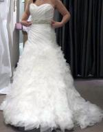 Brand New Never Worn Raffaele Ciuca Wedding Gown