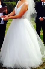 Princess Wedding Gown by Madeline Gardner NYC