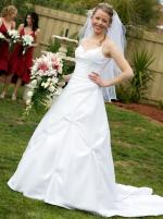 Elegant Mancini Virtue Collection Wedding Dress