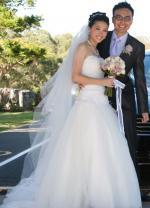 Custom Made Pronovias Inspired Stunning  Wedding Gown