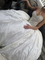 Beautiful Strapless Wedding Dress by Personalised Weddings