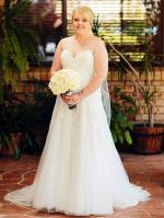 Beautiful Pronovias 'Laurelin' Wedding Dress