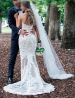 Gorgeous Custom Made Wedding Gown by Rose Zurzolo
