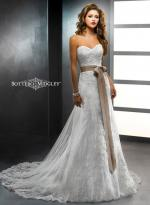 Beautiful Strapless 'Chelsea' Gown by Sottero and Midgley