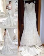 Brand New with Tags Raffaele Ciuca Panola/Mullet Wedding Dress with Veil