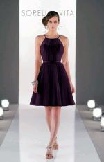 New Never Worn Sorella Vita Aubergine/Berry bridesmaid dress size AU10