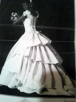 Beautiful Classic 'Renee' Wedding gown by Marie-Perry watson
