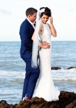Mermaid Style Wedding Gown Made in Spain by Designer Rosa Clara