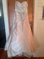 Beautiful Oyster coloured Bridal Gown