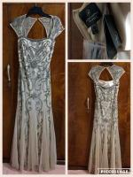 Beautiful beaded Adrianna Papell gown - NWT