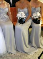 Four LISA HO Strapless Formal / Bridesmaids Dresses