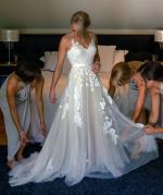 One Off Elegant Wedding Dress by Bella Donna