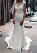 Brand New Never Worn Cosmobella Wedding Gown