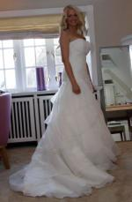 Beautiful designer Wedding Dress by PRONOVIAS