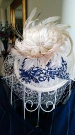 Feathers by Faith Custom Made Fascinator