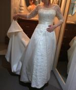 Stunning Silk & Lace Gown - NOT WORN
