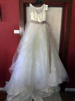 Maggie Sottero Aline wedding dress size 8