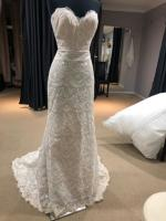 Beautiful Strapless Lace Fitted Dress by Essense