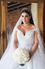 Steven Khalil Wedding Gown